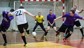 Rīgas kausa izcīņā telpu futbolā zināmi pusfināla pāri