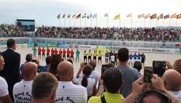 Eduards Borisevičs apkalpos Klubu Pasaules kausu pludmales futbolā