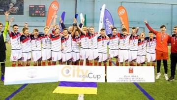 """Ar 10 komandu dalību aizvadīts U-14 """"Riga City Cup"""" turnīrs"""