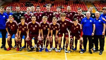 U-19 telpu futbola izlase aizvadījusi pārbaudes spēli pret Spāniju