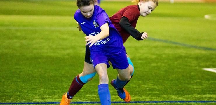 Apakšgrupu spēles Pavasara kausa izcīņā U-16 meitenēm