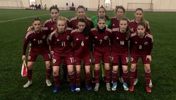 Arī otrajā spēlē Baltkrievijā WU-17 izlasei zaudējums
