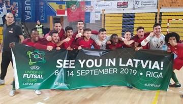 Zināmi Latvijas U-19 telpu futbola izlases pretinieki EČ finālturnīrā Rīgā