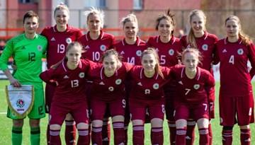 Sieviešu izlase pirmajā pārbaudes spēlē piekāpjas Baltkrievijai