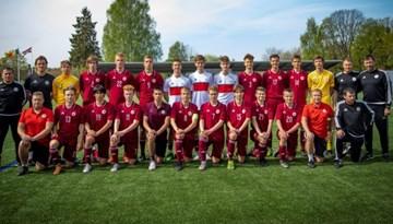 Latvijas U-17 izlasei uzvara atnes otro vietu UEFA Attīstības turnīrā