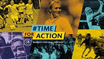 UEFA pirmoreiz nāk klajā ar sieviešu futbolam veltītu stratēģiju