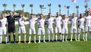 Latvijas U-21 izlase viesos aizvadīs pārbaudes spēli pret Lietuvu
