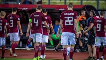 Latvijas izlasei sakāve pret Slovēniju