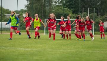 Sieviešu futbola kausā aizvadītas otrās kārtas spēles