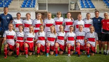 Latvijas U-17 meiteņu izlase gatavojas pārbaudes mačiem pret Ukrainu