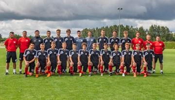 Latvijas U-17 izlase Baltijas kausa ievadā pārspēj Lietuvu