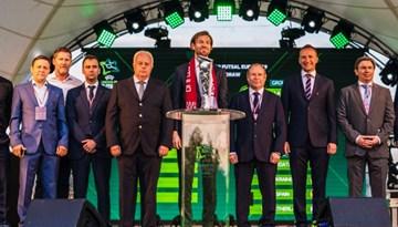 Kaspars Gorkšs: LFF ir milzīgs gods un privilēģija rīkot U-19 telpu futbola finālturnīru