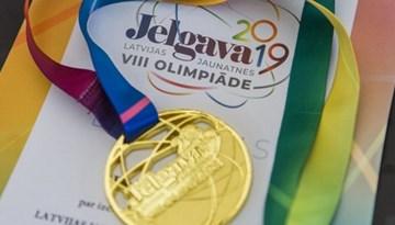 Rīdzinieki uzvar Latvijas Jaunatnes Olimpiādes futbola sacensībās