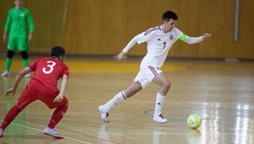 Latvijas U-19 Telpu futbola izlase pulcējas treniņnometnei un pārbaudes turnīram