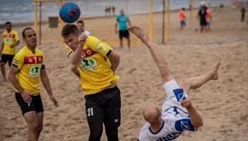 Vadību pludmales futbola čempionātā pārņem Linden City BSC