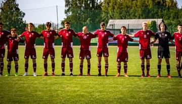 Latvijas U-18 izlase pārbaudes spēlē piekāpjas Islandei