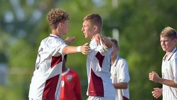 Latvijas jauniešu izlase pārspēj Maldīvu salas un spēlēs par 1. vietu pret Butānu