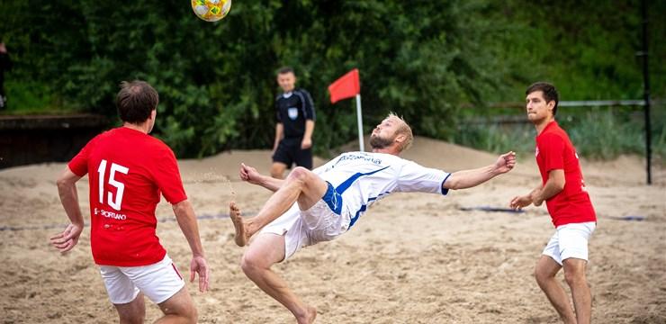 Pludmales futbola čempionāta finišā otro vietu izrauj Zep/Forevers