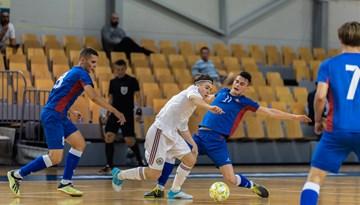 U-19 telpu futbolisti pārbaudes spēlē piekāpjas Moldovas vienaudžiem