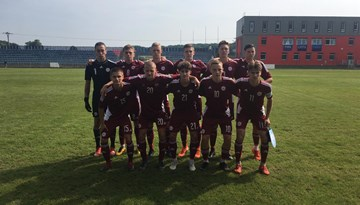 Latvijas U-18 izlase zaudē V. Ježeka turnīra pēdējā mačā