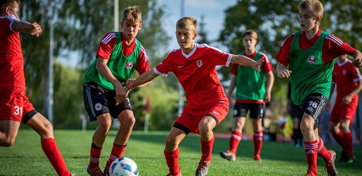 Bauskā aizvadīts LFF Futbola akadēmijas U-14 reģionālo izlašu turnīrs