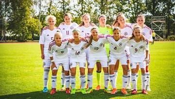 Latvijas U-15 meiteņu izlase Baltijas kausā iegūst otro vietu