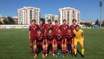 Latvijas U-17 izlasei nepatīkama sagrāve pret Izraēlu