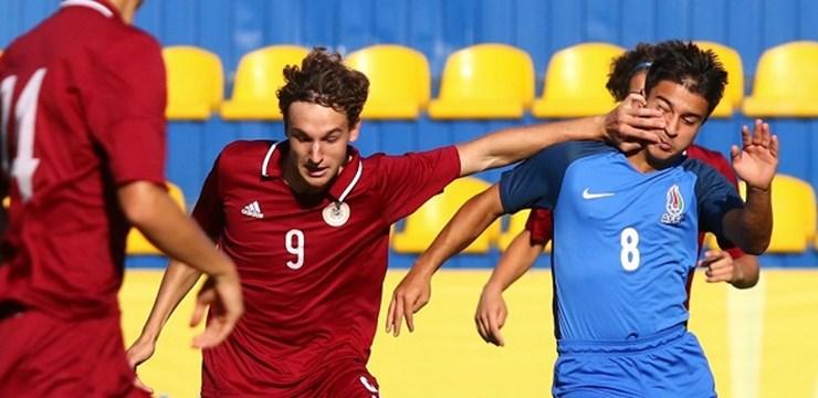Latvijas U-17 izlase gūst uzvaru pārbaudes mačā Ukrainā