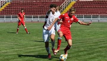 Latvijas U-17 izlase piekāpjas baltkrieviem