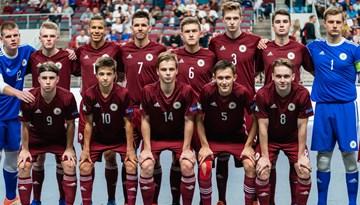 Latvijas U-19 telpu futbola izlase debitējusi Eiropas Čempionāta finālturnīrā