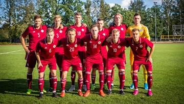 Latvijas U-21 izlase izlaiž uzvaru Serbijā