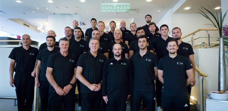 Latvija kā viena no pirmajām valstīm uzņēmusi UEFA Share semināru vārtsargu treneru instruktoriem