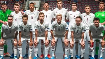U-19 telpu futbola izlase EČ otrajā spēlē piekāpjas Krievijai