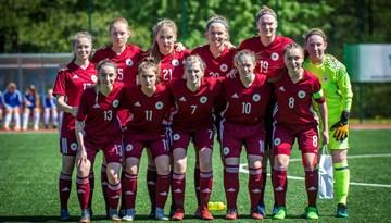 Latvijas U-19 sieviešu izlase pulcējas uz treniņnometni