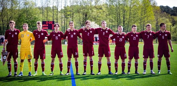 Zināms Latvijas U-17 kandidātu saraksts Federācijas kausa izcīņas mačiem