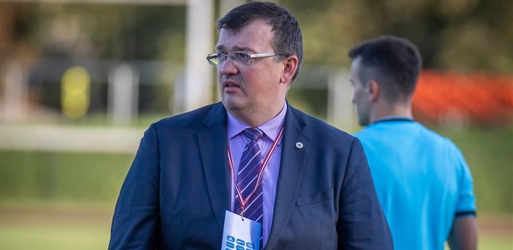 """Kazakevičs par U-21 izlases spēlēm septembrī: """"Varam līdzvērtīgi cīnīties ar grupas favorītiem"""""""