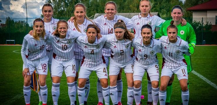 Pirmajā pārbaudes spēlē Latvijas U-19 meitenes pārspēj kiprietes