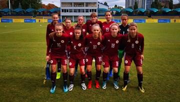 Latvijas U-17 meitenēm Ukrainā vērtīga mācību pieredze