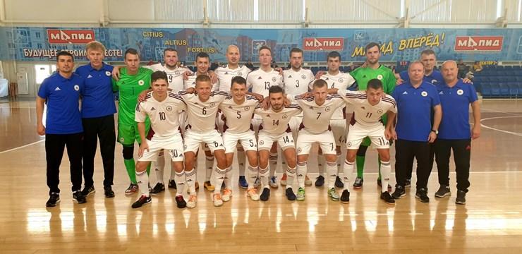Telpu futbolisti no Latvijas turnīru Baltkrievijā sāk ar piekāpšanos Moldovai