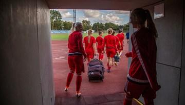 Nosauktas Latvijas sieviešu izlases spēlētājas oktobra mačiem