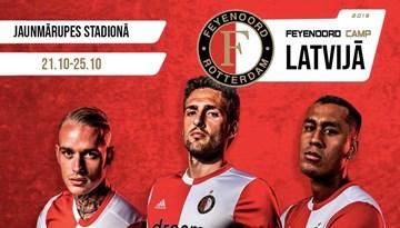 Aicina pieteikties FC Feyenoord nometnei Latvijā