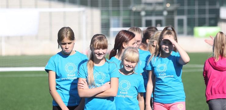 Eiropas futbola un sporta nedēļas ietvaros aizvadīts pasākums Daugavpilī