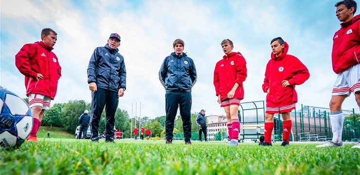 Latvijas U-15 komandai otrā uzvara pārbaudes turnīrā