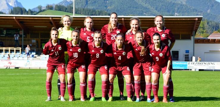 Latvijas U-19 meitenēm Austrijā otrā neveiksme