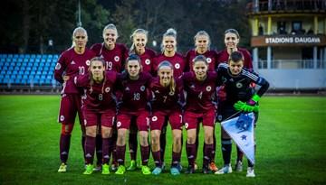 Dāmas nenosargā vadību pret Slovākiju