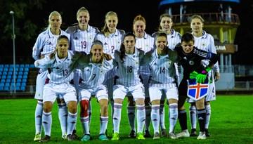 Latvijas dāmas atzīst spēcīgās Islandes pārākumu