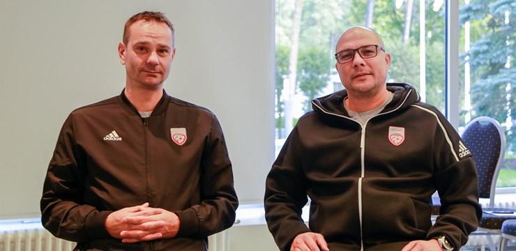 Iepazīsties ar Latvijas izlases trenera asistentiem: Asens Bukarevs un Envers Čiričs