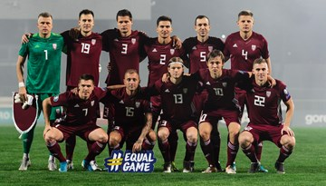 Latvijas izlasei zaudējums pret Poliju