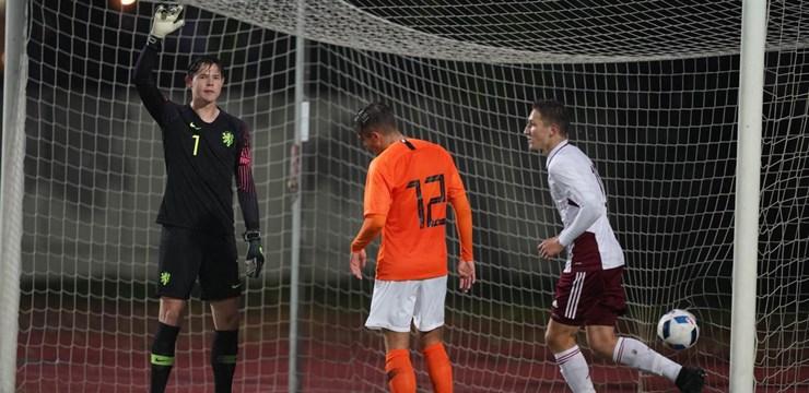 U-19 izlasei zaudējums EČ kvalifikācijas otrajā spēlē