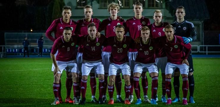 Latvijas U-21 izlase piekāpjas Igaunijai